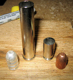 .444 Marlin compared to a .40 S&W