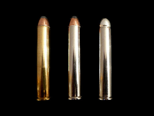 Three different bullets for the .444 Marlin